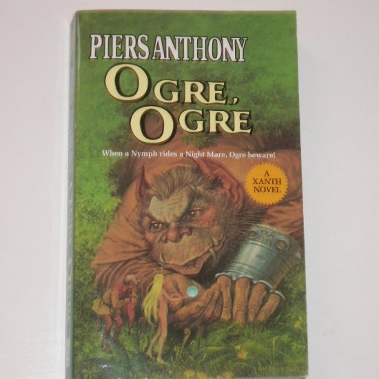Ogre, Ogre by PIERS ANTHONY Fantasy 1982 A Xanth Novel