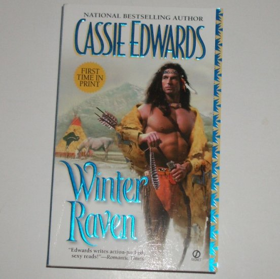 Winter Raven by CASSIE EDWARDS Historical Western Romance 2000