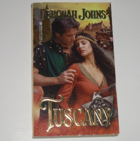 Tuscany by DEBORAH JOHNS Historical Medieval Romance 1999