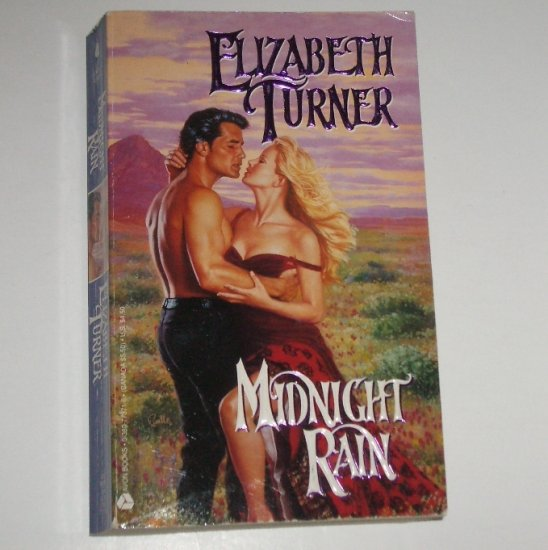Midnight Rain by ELIZABETH TURNER Historical Western Romance 1994