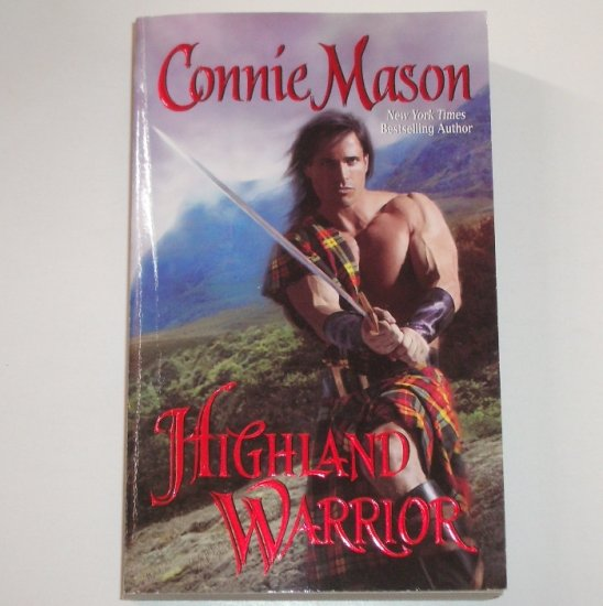 Highland Warrior by CONNIE MASON Historical Scottish Medieval Romance 2007