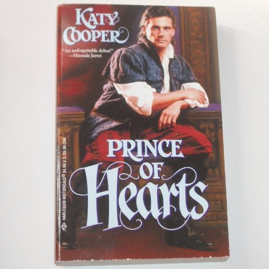 Prince of Hearts by KATY COOPER Harlequin Historical Medieval Romance No 525 2000