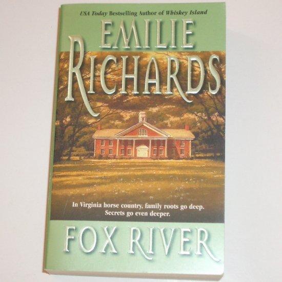 Fox River by EMILIE RICHARDS Romantic Suspense 2001