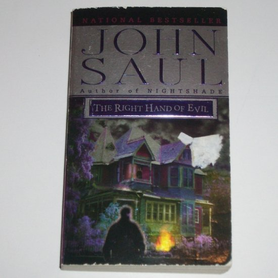 The Right Hand of Evil by JOHN SAUL Horror and Suspense 2000