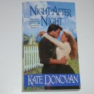 Night After Night by KATE DONOVAN Zebra Ballad Historical Western Romance 2002