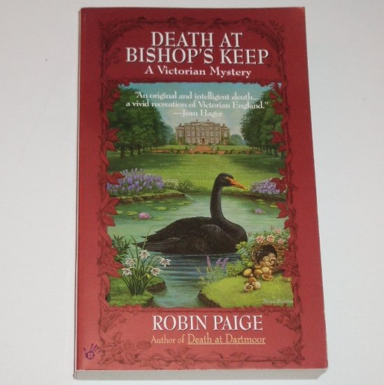 Death at Bishop's Keep by ROBIN PAIGE A Victorian Cozy Mystery 1998 Berkley Prime Crime