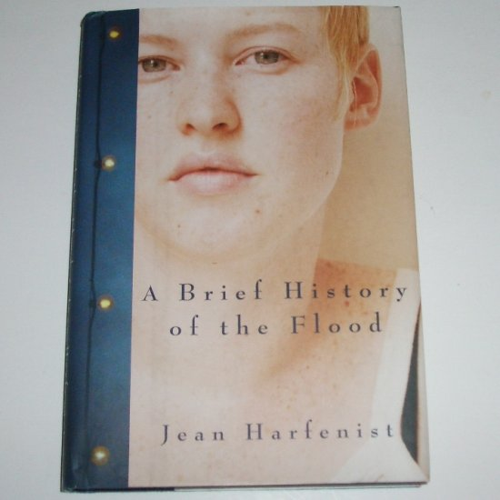 A Brief History of the Flood by JEAN HARFENIST Hardcover with Dust Jacket 2002 First Edition
