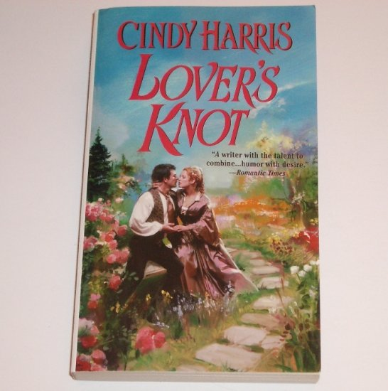 Lover's Knot by Cindy Harris Zebra Ballad Victorian Irish Romance 2002 Dublin Dreams Series