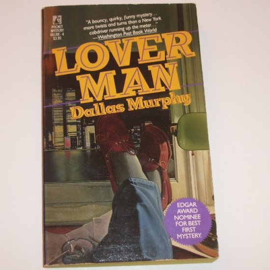 Lover Man by DALLAS MURPHY Mystery 1988 Edgar Award Nominee