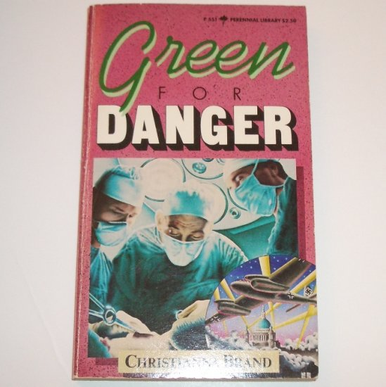 Green for Danger by CHRISTIANNA BRAND An Inspector Cockrill Cozy Mystery 1981
