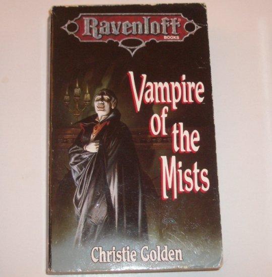 Vampire of the Mists by Christie Golden Gothic Horror 1991 Ravenloft Series