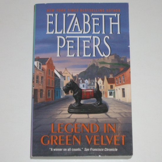 Legend in Green Velvet by ELIZABETH PETERS Mystery 2002