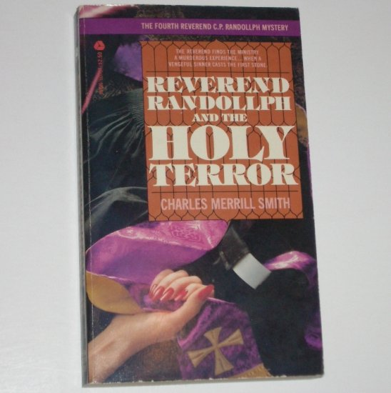 Reverend Randollph and the Holy Terror by CHARLES MERRILL SMITH Mystery 1982