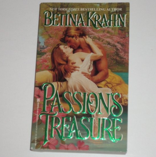 Passion's Treasure by BETINA KRAHN Historical Colonial Romance 1989