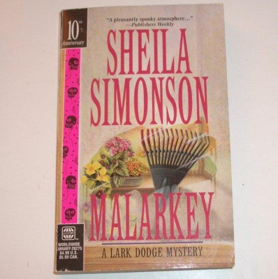 Malarkey by SHEILA SIMONSON A Lark Dodge Mystery 1997