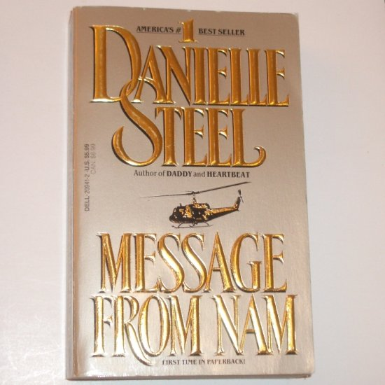 Message From Nam by DANIELLE STEEL Romance 1990