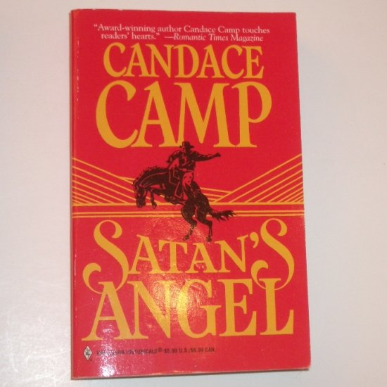 Satan's Angel by CANDACE CAMP Harlequin Historical Western Romance 1998