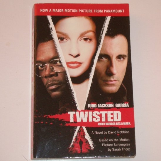 Twisted by DAVID ROBBINS Suspense Thriller 2004
