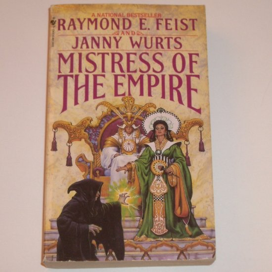 Mistress of the Empire by RAYMOND E FEIST and JANNY WURTS Fantasy 1993 The Empire Trilogy