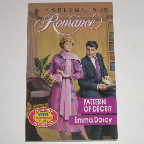 Pattern of Deceit by EMMA DARCY Harlequin Romance No 3085 Nov90