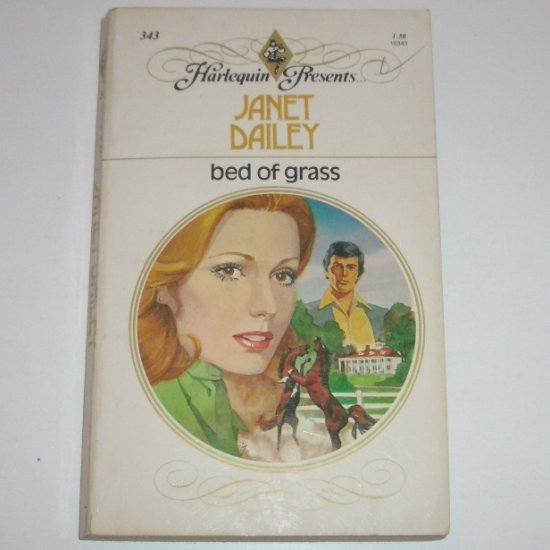 Bed of Grass by Janet Dailey Harlequin Presents 343 1980
