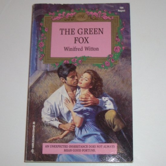 The Green Fox by WINIFRED WITTON Harlequin Historical Regency Romance No 104 1993
