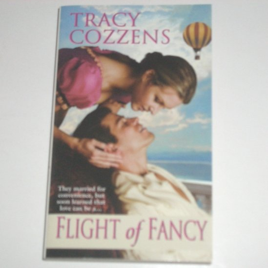 Flight of Fancy by TRACY COZZENS Zebra Ballad Regency Romance 2002 American Heiresses Series