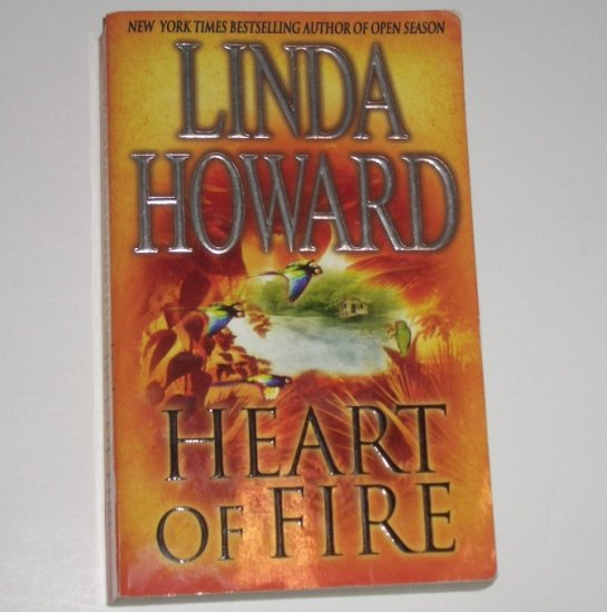 Heart of Fire by LINDA HOWARD Romance 1993