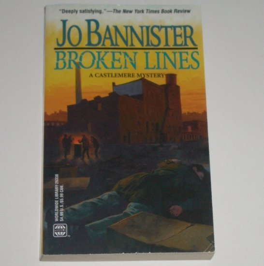 Broken Lines by JO BANNISTER A Castlemere Mystery 2000