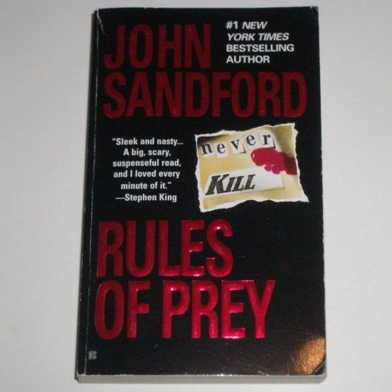 Rules of Prey by JOHN SANDFORD A Lucas Davenport Thriller 1990 Prey Series