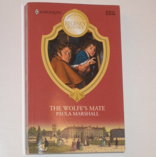The Wolfe's Mate by PAULA MARSHALL Harlequin Regency Romance 1999 Marriage & Mayhem Series