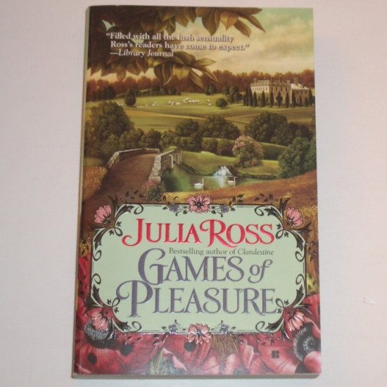 Games of Pleasure by JULIA ROSS Historical Regency Romance 2007 Wyldshay Series
