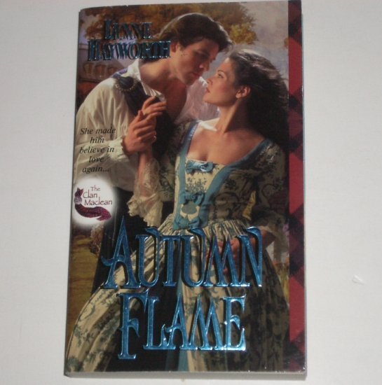 Autumn Flame by LYNNE HAYWORTH Zebra Ballad Scottish Highlands Romance 2001 The Clan Maclean Series