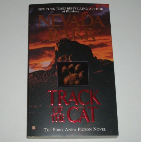 Track of the Cat by NEVADA BARR An Anna Pigeon Mystery Suspense Thriller 2003