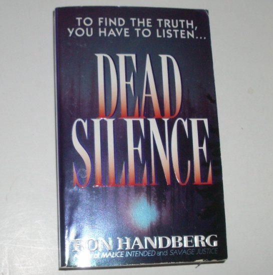 Dead Silence by RON HANDBERG A TV Newsroom Mystery 1999