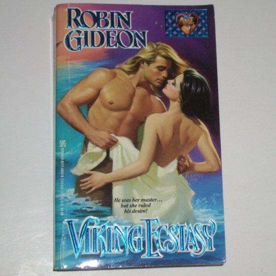 Viking Ecstasy by ROBIN GIDEON Historical Viking Romance 1993