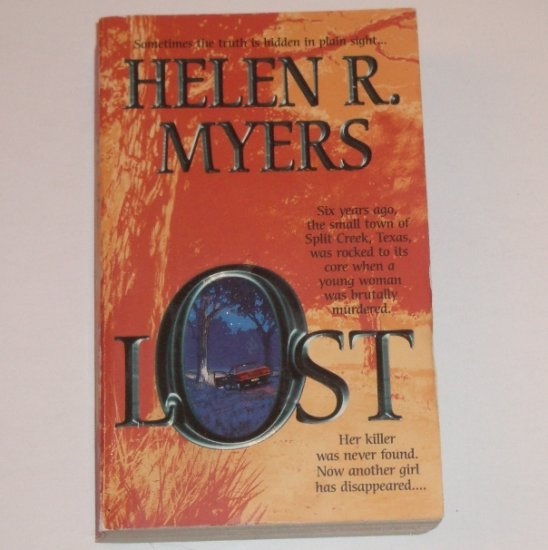 Lost by HELEN R MYERS Romantic Suspense 2000