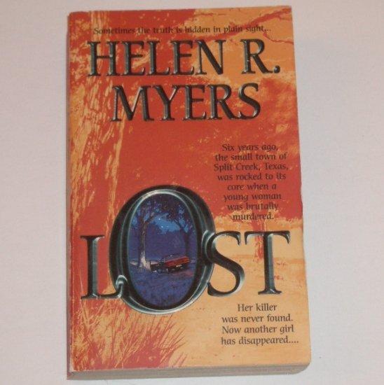 Lost by HELEN R MYERS Romantic Suspense 2000
