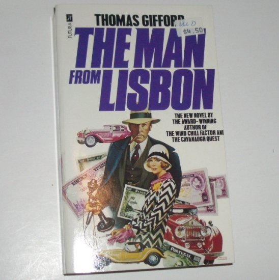 The Man From Lisbon by THOMAS GIFFORD Import Futura Edition 1980
