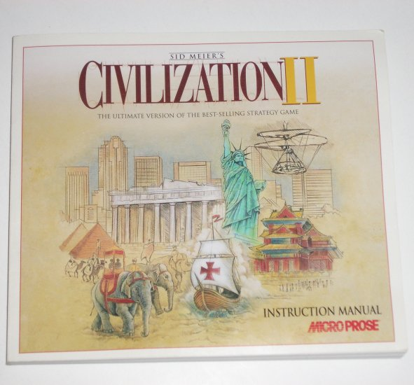 Sid Meier's Civilization II Instruction Manual 1996