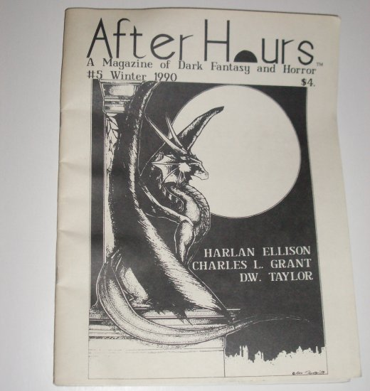 After Hours A Magazine of Dark Fantasy and Horror #5 Winter 1990 by HARLAN ELLISON