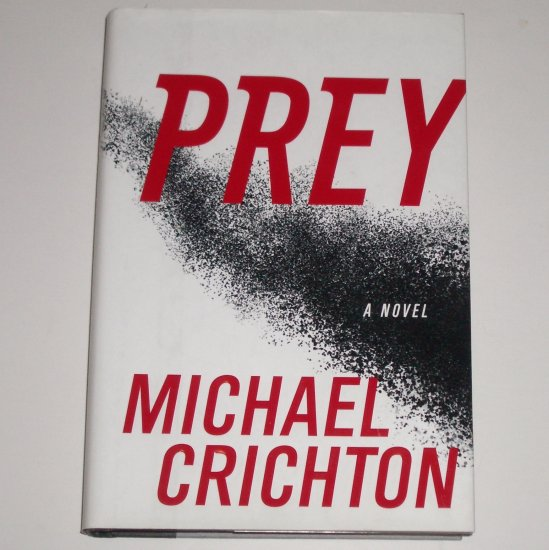 Prey by MICHAEL CRICHTON Hardcover with Dust Jacket Suspense Thriller 2002