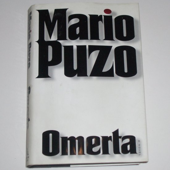 Omerta by MARIO PUZO Hardcover Dust Jacket 2000 Mafia Thriller First Edition