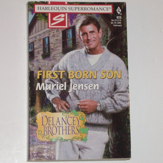 First Born Son by Muriel Jensen Harlequin Superromance 825 Feb99 The Delancey Brothers Series