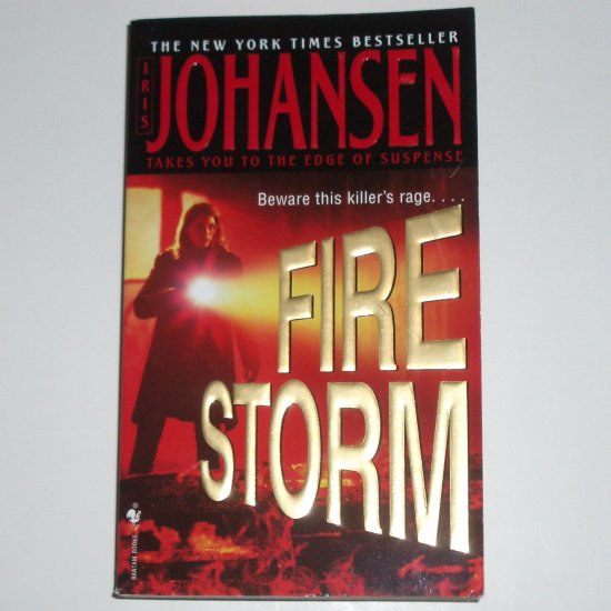 Firestorm by IRIS JOHANSEN Suspense Thriller 2005
