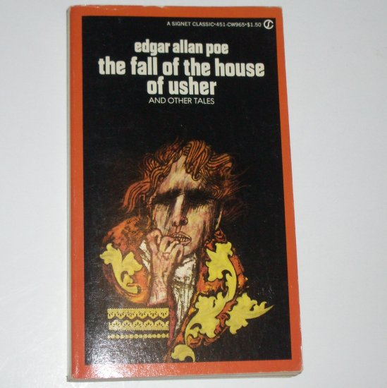 The Fall of the House of Usher by EDGAR ALLAN POE Signet Classic Horror 1960