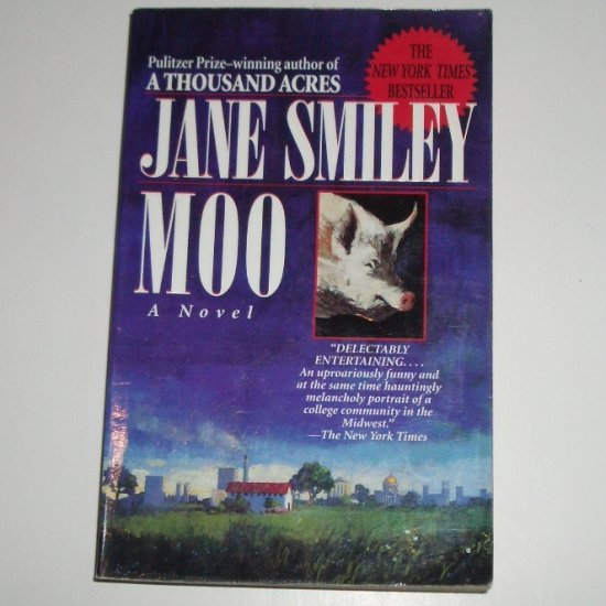 Moo by JANE SMILEY Trade Size 1996