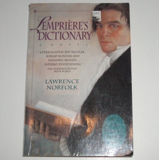 Lempriere's Dictionary by LAWRENCE NORFOLK Trade Size 1993
