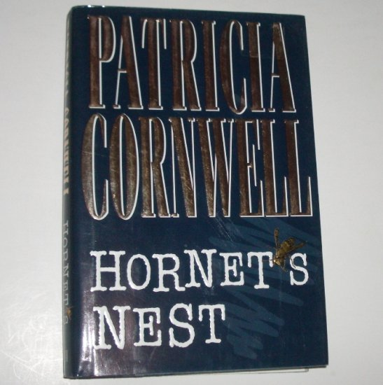 Hornet's Nest by Patricia Cornwell Hardcover with Dust Jacket 1996 An Andy Brazil Mystery