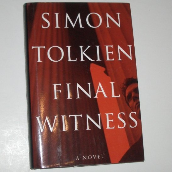 Final Witness by SIMON TOLKIEN Hardcover Dust Jacket 2003 Thriller